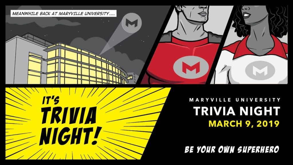 2019 Maryville Trivia Night logo