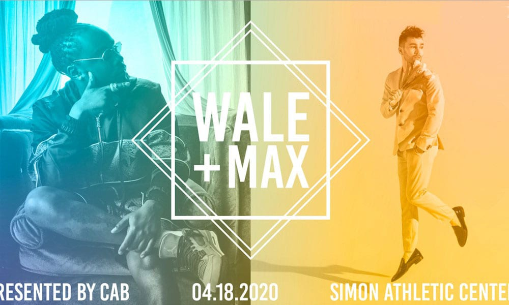 Wale and Max Spring Concert graphic