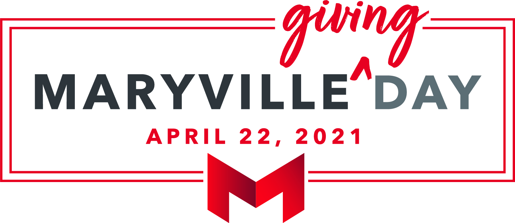 maryville giving day logo