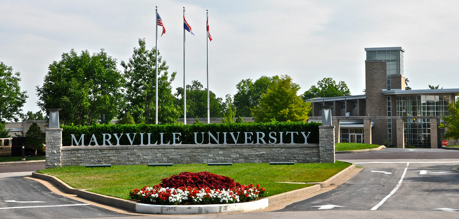 entrance to maryville university