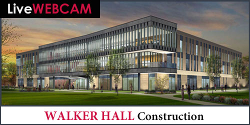 Walker Hall Construction live webcam