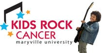 Kids Rock Cancer logo