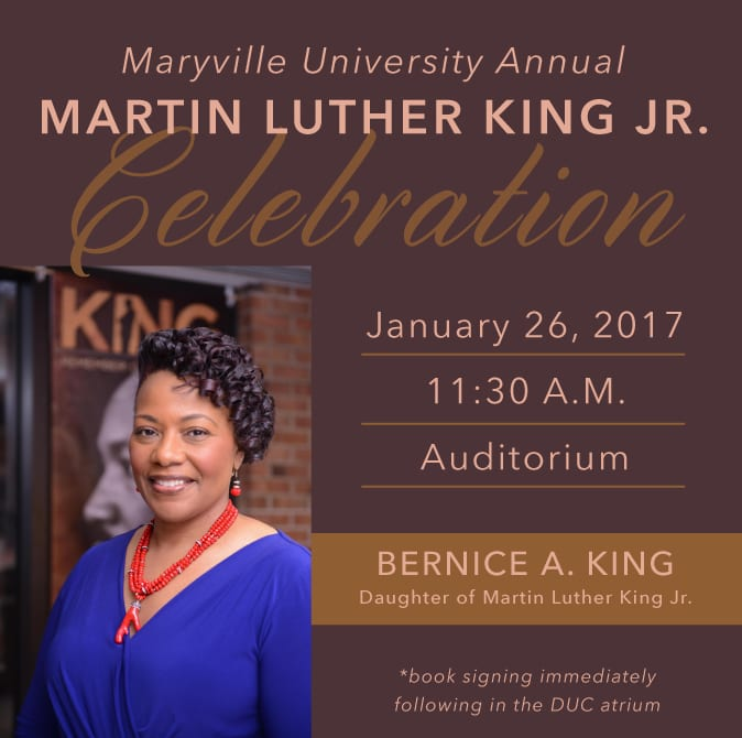 Maryville University Annual Martin Luther King Jr. Celebration