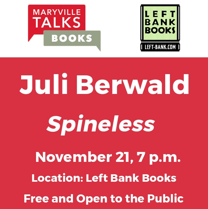 Maryville Talks Books Juli Berwald
