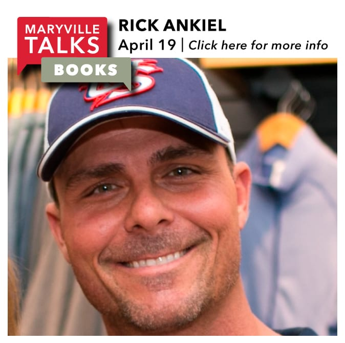 Maryville Talks Books - Rick Ankiel