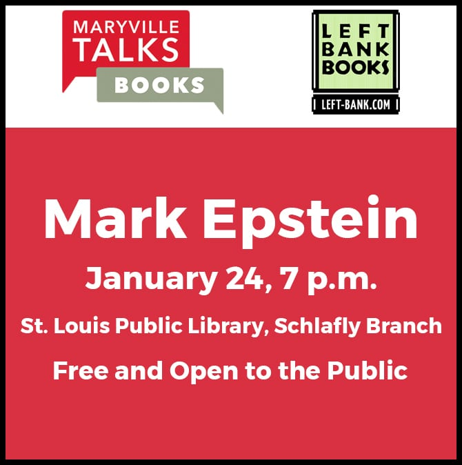 Mark Epstein Maryville Talks Books