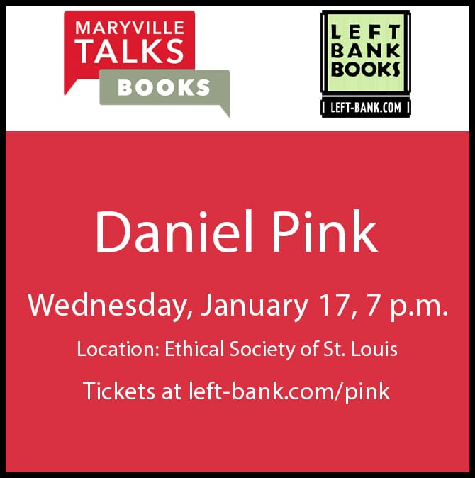 Maryville Talks Books: Daniel Pink (Jan. 17, 2018)