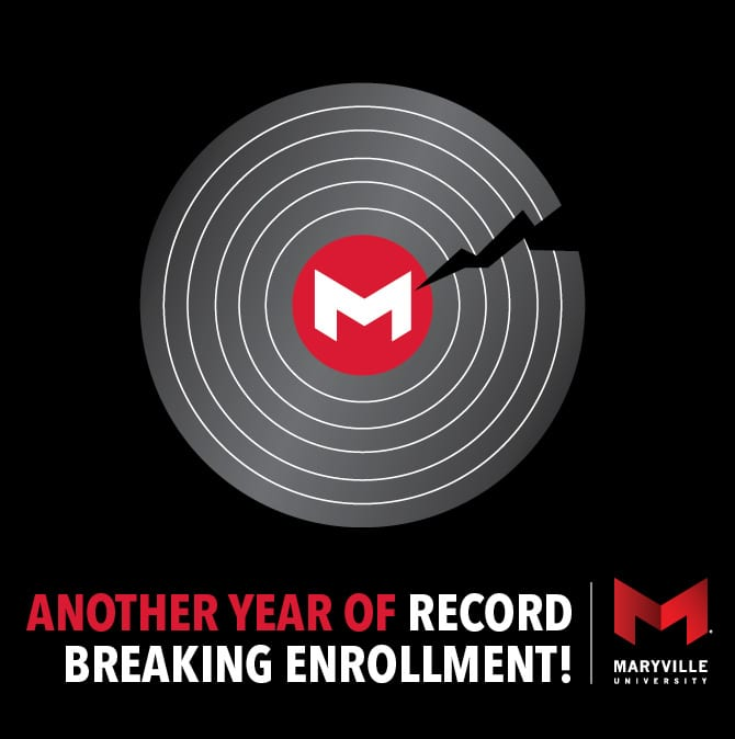 icon of Maryville breaking record enrollment