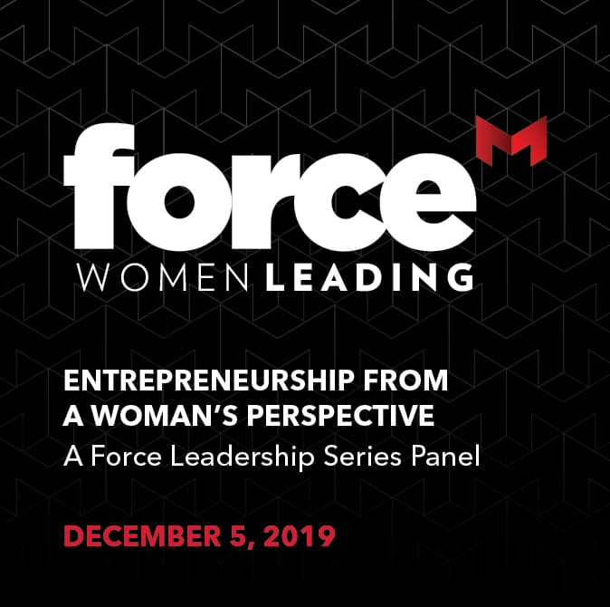Force Women Leading ad for Dec. 5 event