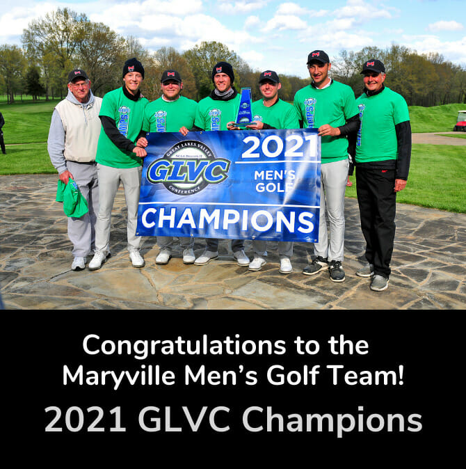 Congratulations to the Maryville's Men's Golf Team!