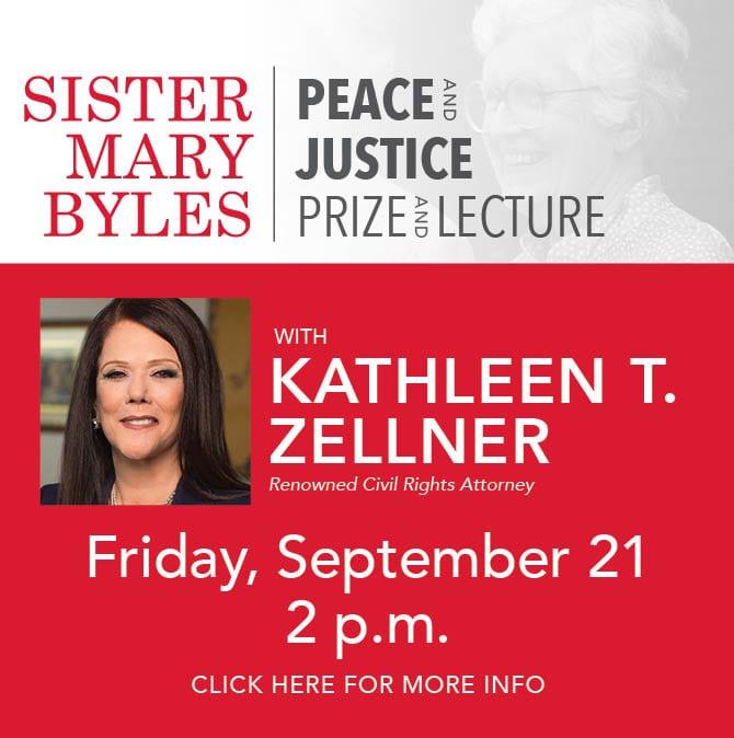 Kathleen Zellner Sister Mary Byles Award winner