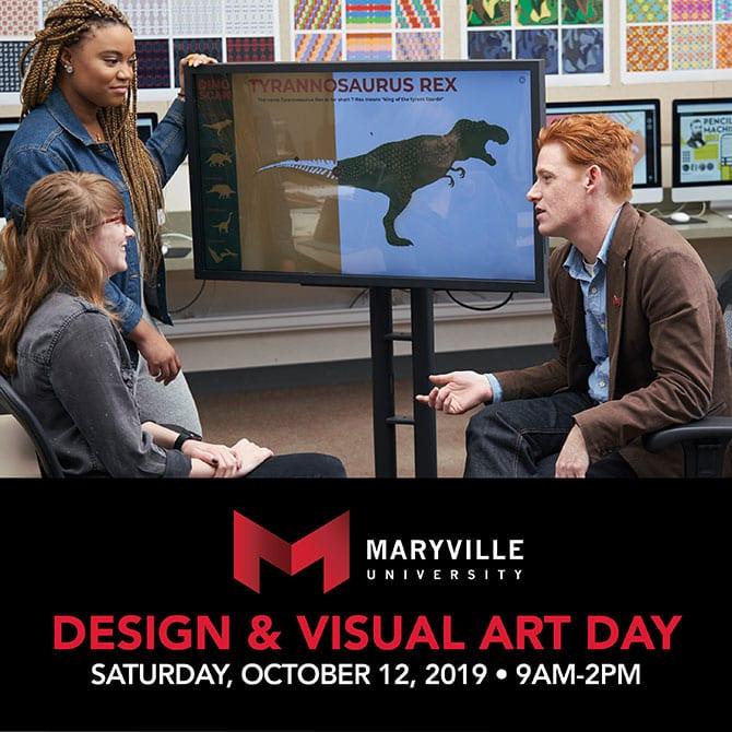 Maryville_Design-VisualArt Visit Day Oct. 12 ad