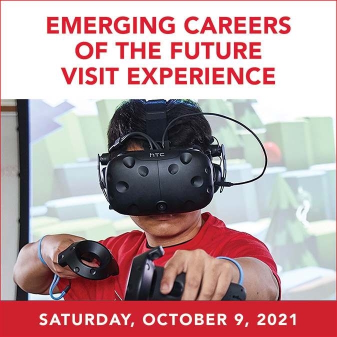 Maryville emerging careers visit day ad
