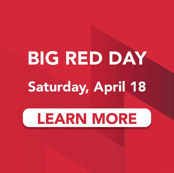 Big Red Day: Saturday, April 18 ad