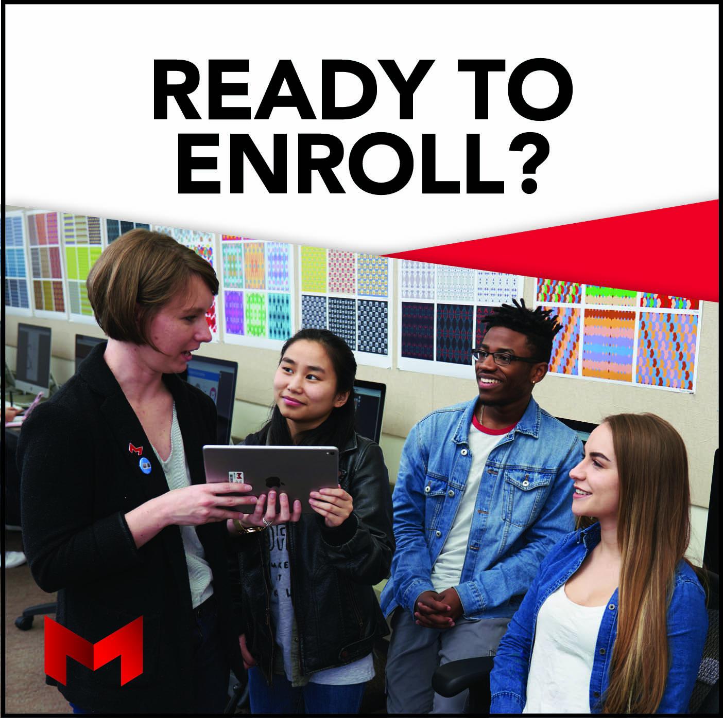 ready to enroll ad