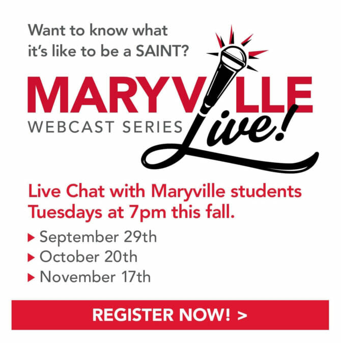 maryville webcast live series graphic