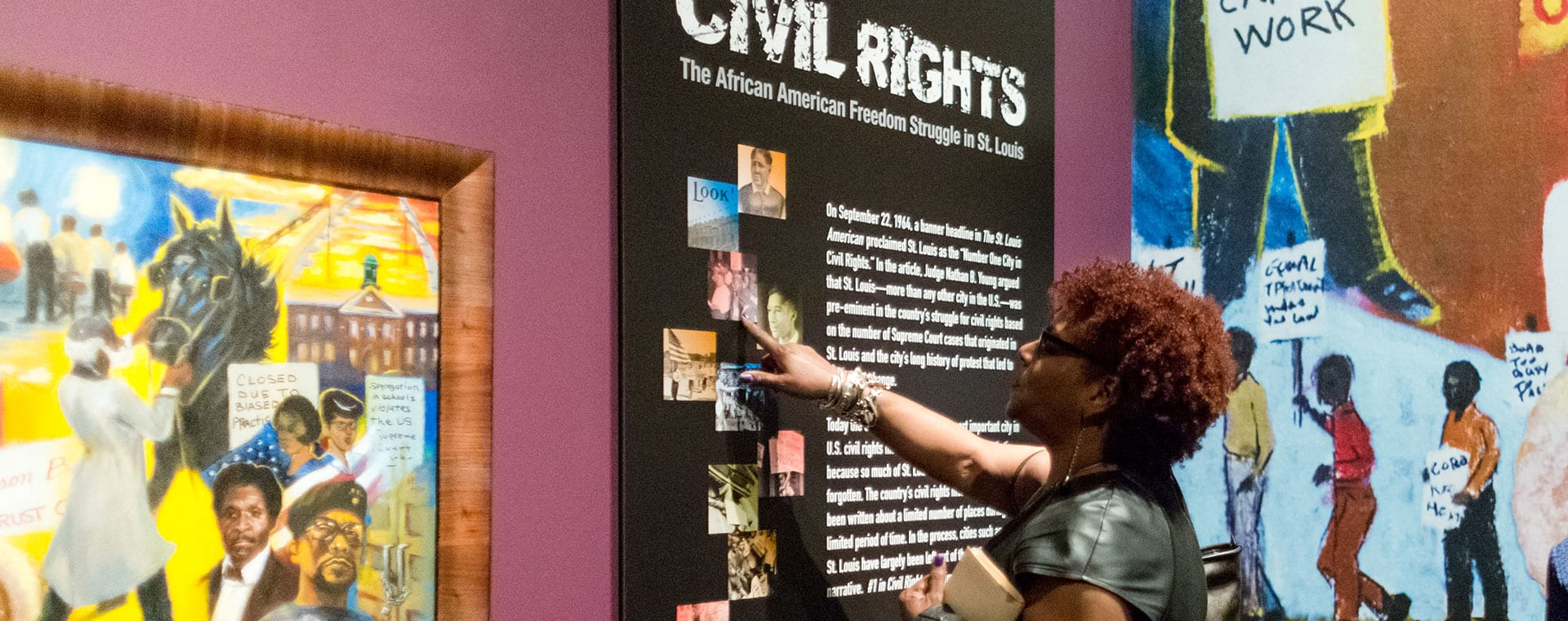 Maryville's sponsorship of the Civil Rights exhibit at the Missouri History Museum