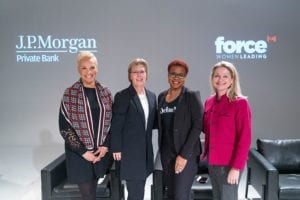 panelists for Women Force event