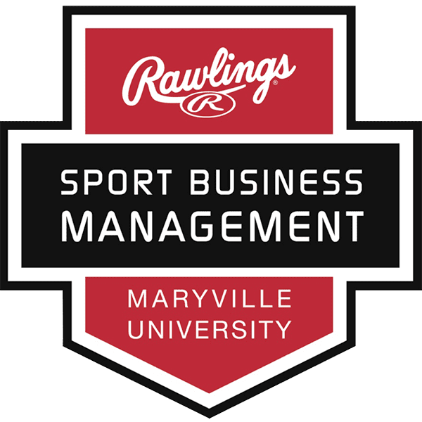 Maryville University Sports Business Management Logo