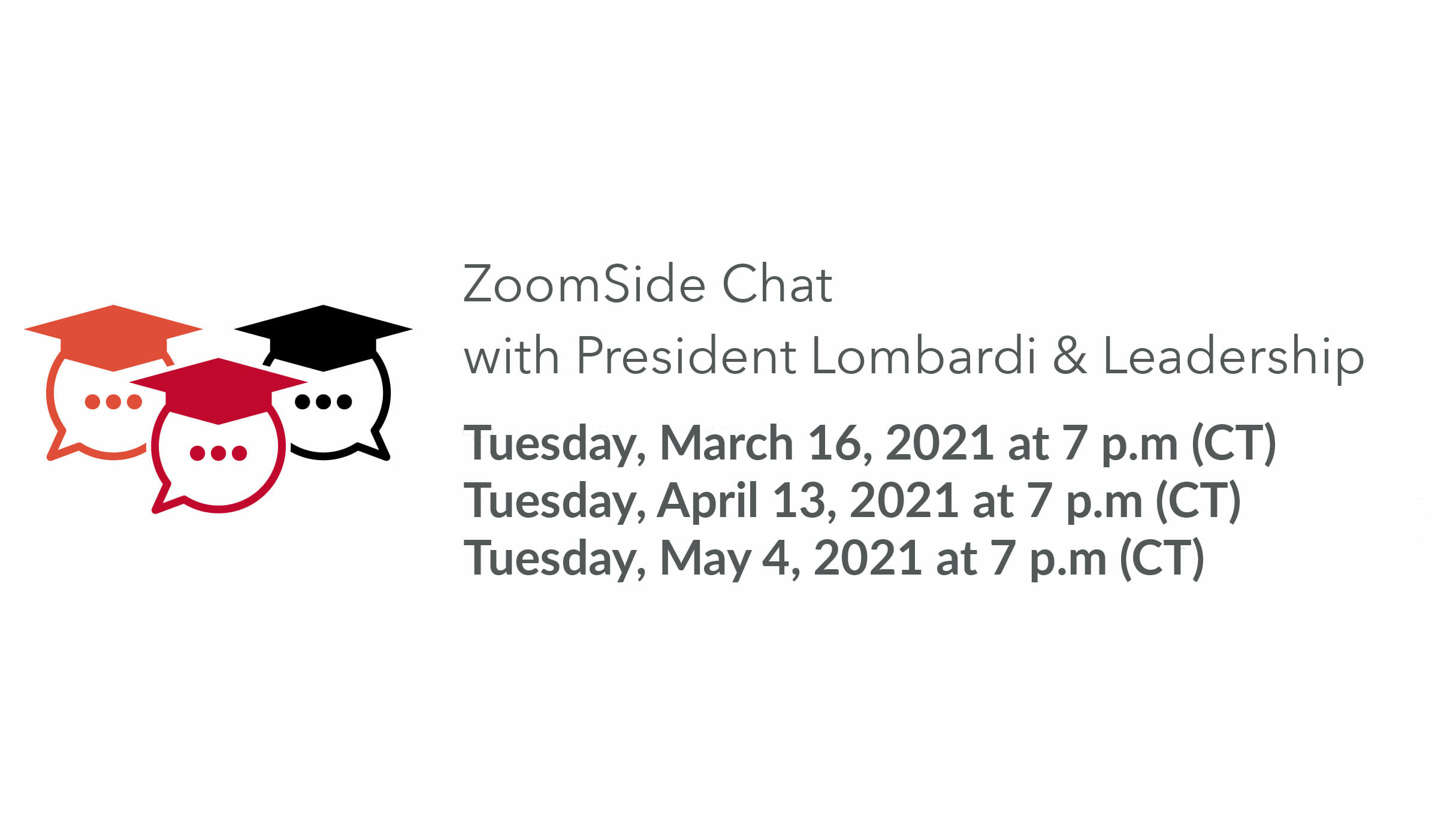 zoomside chats in spring