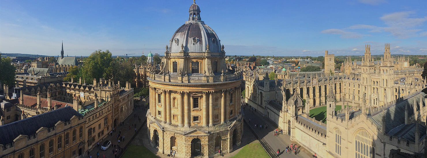 college at Oxford, UK