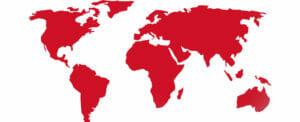graphic of world