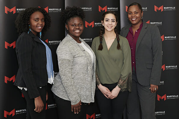 Maryville University's Scholarship Reception on April 11, 2018.