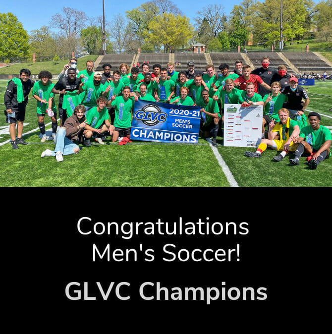 Congratulations Men's Soccer! GLVC Champions