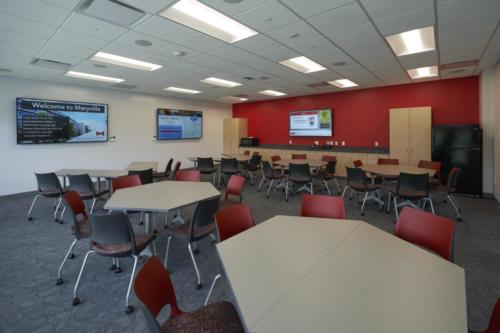 Maryville University's Athletic Complex conference room/meeting room
