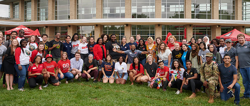 Diverse group of student organizations at Maryville